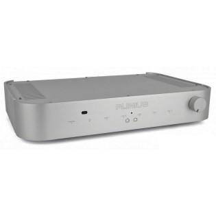 Plinius Inspire 980 Silver, stereo stiprintuvas su DAC ir media grotuvu