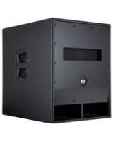 RCF SUB 718-AS, žemų dažnių akustinė sistema su stiprintuvu