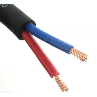 the sssnake SSK 225 BK 2x2.5mm2, profesionalus kolonėlių kabelis