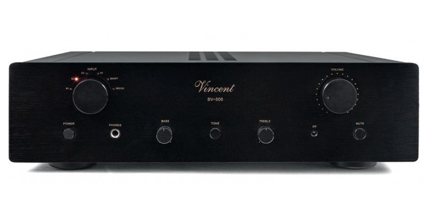 Vincent SV-500 black, stereo stiprintuvas