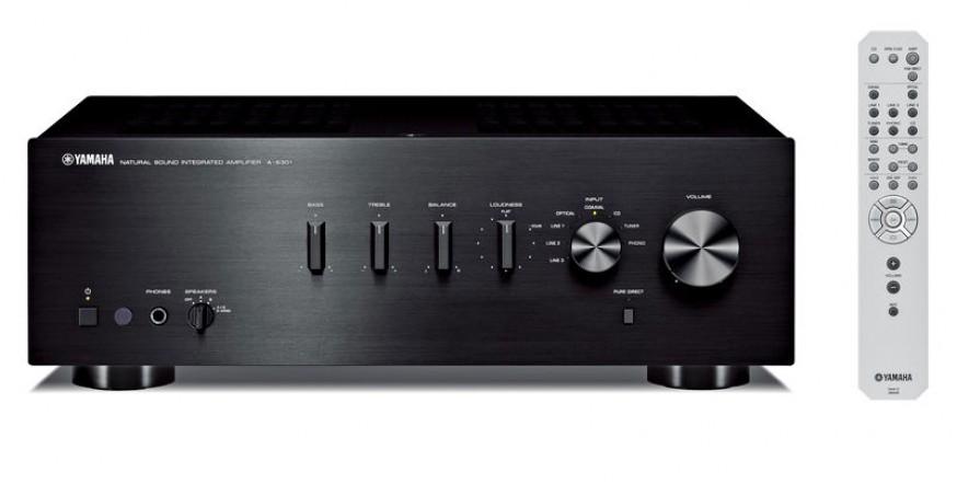 Yamaha A-S301, stereo stiprintuvas su DAC