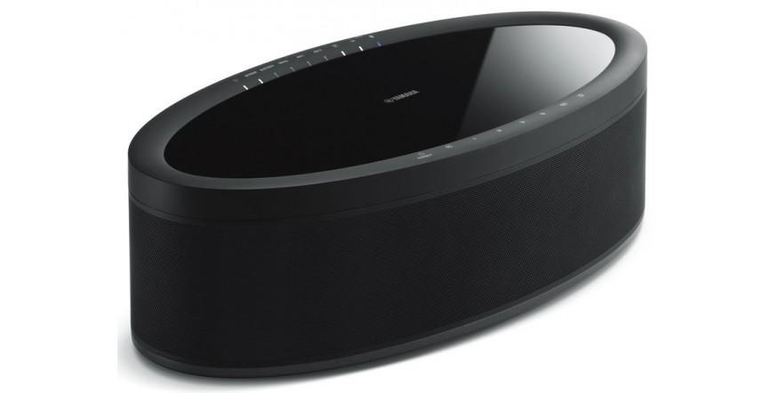 Yamaha MusicCast 50 WX-051 Black, garso kolonėlė su stiprintuvu ir media grotuvu