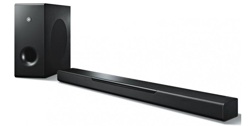 Yamaha MusicCast Bar 400 YAS-408 Black, aktyvi garso kolonėlė su media grotuvu