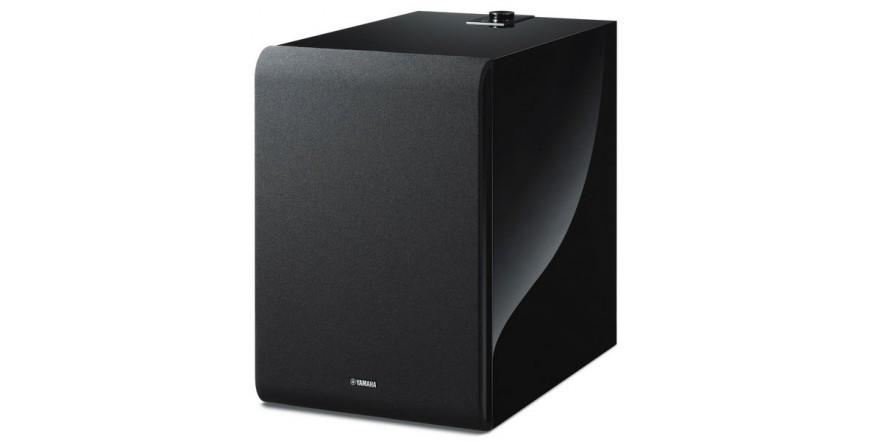 Yamaha MusicCast Sub 100 Black (NS-NSW100PB), belaidė žemų dažnių garso kolonėlė