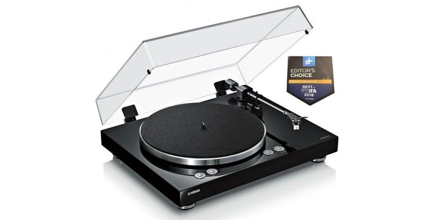 Yamaha MusicCast Vinyl 500 TT-N503 Black, Wi-Fi MusicCast plokštelių grotuvas