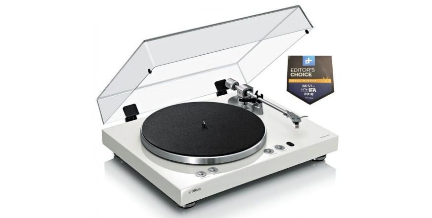 Yamaha MusicCast Vinyl 500 TT-N503 White, Wi-Fi MusicCast plokštelių grotuvas