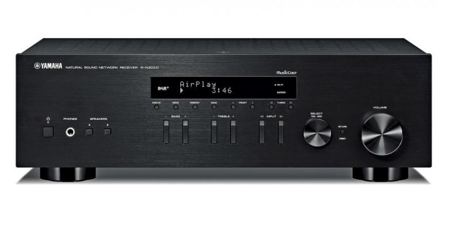 Yamaha R-N303D, stiprintuvas su įmontuotu media grotuvu